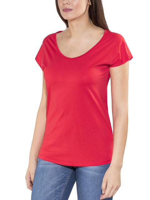 Haglöfs Camp Kortærmet T-shirt Damer rød